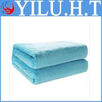 China wholesale cheap solid color coral fleece blanket china for sale wholesale