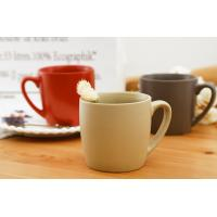 China Classical Ceramic Mugs Round Red Chinese Coffee Eco Friendly Microwave wholesale