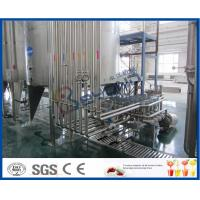 China PLC Control High Standard Fruit Juice Processing Line / Fruit Juice Manufacturing Plant wholesale