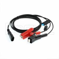 China External Battery Power Supply Cable Alligator Clips SAE 12V For Trimble Topcon Leica wholesale