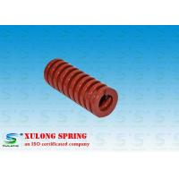 China Red Plating Machinery Die Springs Rectangle Wire 18MM Outside Diameter wholesale