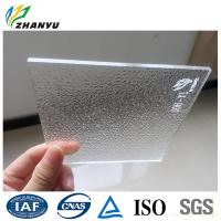 China Clear Surface Uneven Cast Acrylic Sheet wholesale