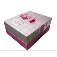 China Holiday Cardboard Gift Boxes with Soy Ink Printing for Chocolate / Candy Packaging wholesale