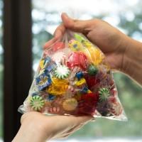 """China 8"""" X 10"""" Commercial Food Bags Custom Printed Plastic For Candy Storage wholesale"""