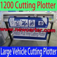 China 1300 Vinyl Graphic Cutting Plotter Creation CT1200H Vinyl Cutter With Contour Cutting 52'' wholesale