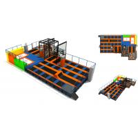 China 396M2  Indoor Playground Equipments/ Fitness Equipment/  Indoor Trampoline Park wholesale