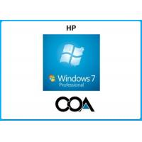 China Microsoft COA Label Windows 7 Professional COA Sticker With OEM Key Online Activate wholesale