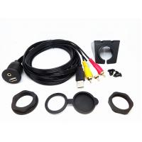 China 6 Ft USB Extension Data Cable Audio Video Flush Mount Set For Car Dashboard wholesale