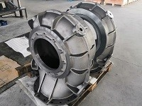 China Precision Machined Ductile Iron Pump Body For Water System wholesale