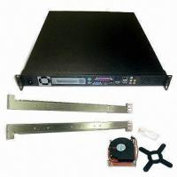 China 19-inch 1U Rackmount Industrial PC Chassis with One Adjustable Watchdog Timer on sale