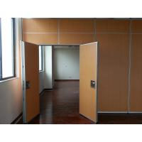 China Soundproof Movable Partitions Mobile Folding Partition Wall For Hotel Hall wholesale