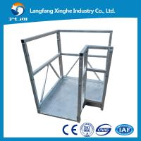 China cable suspended woring platform,swing stage , scaffolding for window fitting wholesale