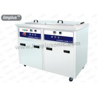 China 130 Liter 1800w Dual Slot Stainless Steel Ultrasonic Cleaner Machine Dring Tank SUS316L wholesale