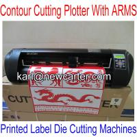China Signkey Cutting Plotter With ARMS SKA720H Cutting Plotter With AAS Printed Label Cutters wholesale