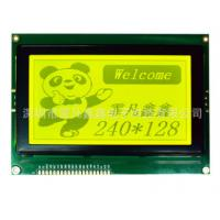China 240×128 Dots Graphic LCD Display Module 144.0x104.0x12.5 Outline Dot Matrix Type wholesale