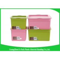 China Customized Hard Clear Plastic Storage Box with Logo Eco - Friendly on sale