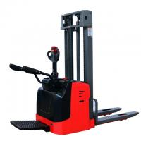 Buy cheap 1.5T 4500MM powered electric pallet stacker Automatic Board Stacker from wholesalers