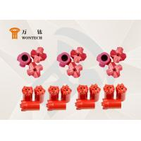 China Customized Foundation Drilling Tools Tapered Button Bits High Efficient wholesale