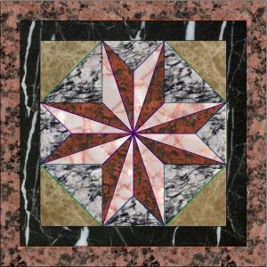 China Granite Base Flower Patterns Marble Waterjet Medallion Floor Tile Marble Medallion Pattern,Floor Decoration wholesale