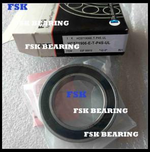 China HCS71906-E-T-P4S-UL High Speed Angular Contact Bearings , Ceramic Bearings Low Noise on sale