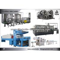 China Industrial 3 in 1 Monoblock Vertical Filling Machine Soft Drink Bottling Equipment wholesale