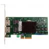 China Femrice 10/100/1000Mbps Dual Port RJ45 Slots Ethernet Server Adapter Intel 82571EB Chipset PCIex4 Server Network Cards wholesale