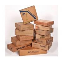 China Moistureproof Decorative Cardboard Boxes , Corrugated Gift Boxes Logo Printed on sale