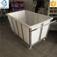 Buy cheap 400L Rotomolded 400litre commercial bulk material industrial trolley cart trucks from wholesalers