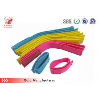 China Durable 100% Nylon Webbing Straps PP , Cotton And Polyester Webbing Straps With hook loop fastening on sale