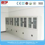 China Wall Mounted Laboratory Storage Cabinet , High Strength Chemistry Lab Furniture wholesale