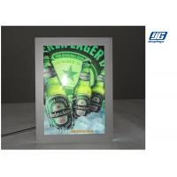 China A0 High Lighting Crystal Slim Light BoxMagnetic Acrylic Sheet With Cover Panel wholesale