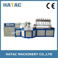 China Automatic Composit Can Slitting Machine,Paper Straw Making Machine,Tin Paper Can Making Machine on sale
