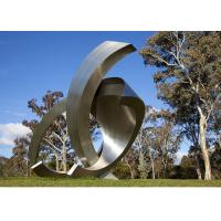 China Garden Large Modern Abstract Stainless Steel Decorative Sculpture wholesale