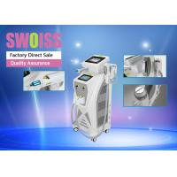 China 3 In 1 Nd Yag Laser Hair Removal Machine , Yag Tattoo Removal Machines Long Lifespan wholesale