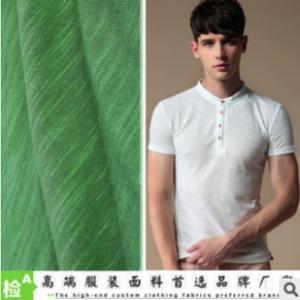 China KNITTING SLUB COTTON FABRIC 32s SLUB COTTON JERSEY T-SHIRT CHILDREN CLOTHING wholesale