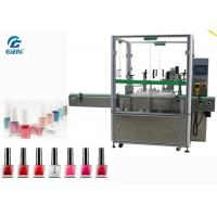China High Speed  Nail Polish Filling And Capping Machine 2 Nozzles For Small Dose wholesale