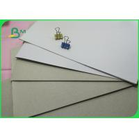 China 6-9% Moisture One Side Coated White Duplex Board With Grey Back 400gsm In Sheet wholesale
