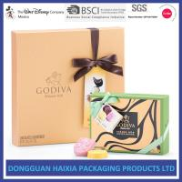 China Colorful Printing Rigid Gift Boxes Chocolate / Candy Packaging Boxes Handmade wholesale