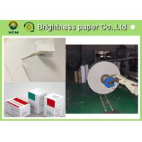 China Antistatic C2S White Back Duplex Board 350gsm Paper shirt board  For Clothes Label wholesale