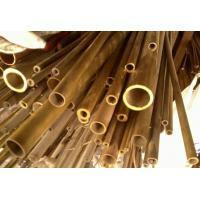 China C44300 / CuZn28Sn1As / CZ111 Yellow Copper Pipes , Seamless Brass Tube wholesale