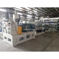 China Computerized Polycarbonate Sheet Extruders Profile PC Acrylic Sheet Machine High Efficiency on sale