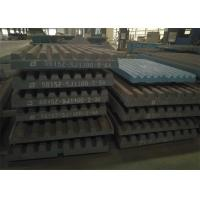Buy cheap Movable Jaw Crusher Jaw Plate High Capacity Consumable Replacement from wholesalers