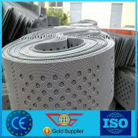 China perforated hdpe plastic geocell honeycomb wholesale