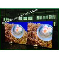 China High Resolution Indoor Full Color Led Display Video With Double Screen For Advertising wholesale
