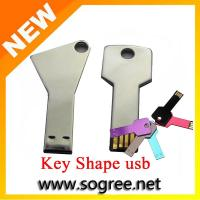 Buy cheap Factory Supply Slim Key Usb Flash Drive for Free Sample from wholesalers