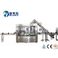 China Reliable Automated Glass Bottling Equipment , Bottle Filling Machine Small wholesale