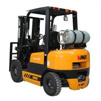 China CPQYD25 Lp Gas Forklift Truck 2.5 Ton 100mm Fork Width 1070mm Fork Length wholesale