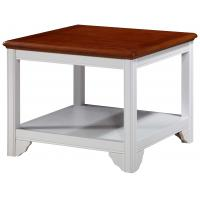 China Ash Wood Veneer Coffee And End Table Furniture Strong Structure Mediterranean Stylish wholesale
