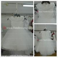 China Capes Lace flower girl dress#AS1560-flower girl wholesale