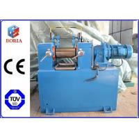 China Lab Plastic Rubber Mixing Machine Two Roll Mill XK-160 High Power Utilization wholesale